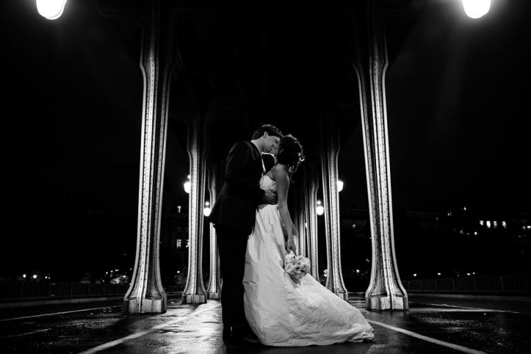 Mariés au pont Bir Hakeim