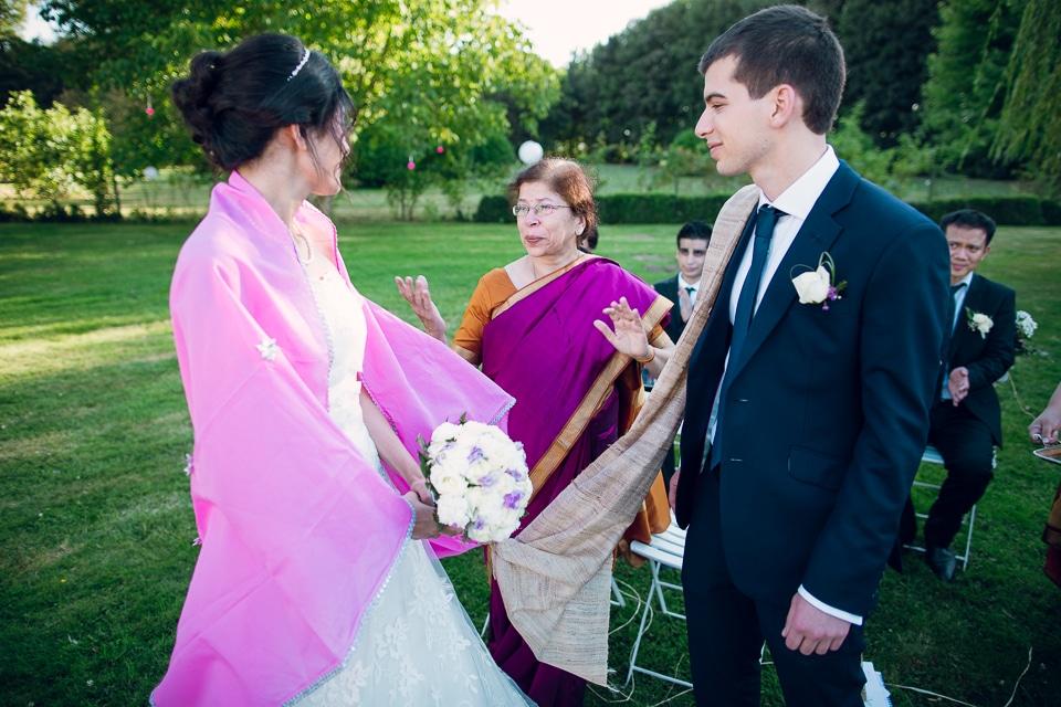 photographe de mariage multiculturel