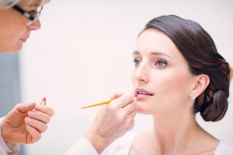 maquillage de la mariée à Tours